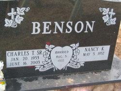 Charles T Benson, Sr