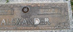Lucy Margaret <i>Wilcox</i> Alexander