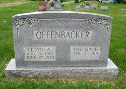 Thelma Elizabeth <i>Stroupe</i> Offenbacker