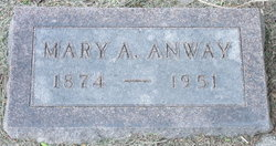 Mary Ann <i>Goldsmith</i> Anway