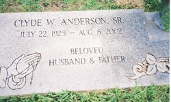 Clyde Wilmer Anderson, Sr