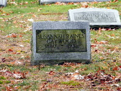 Susannah <i>Raines</i> Gaywood