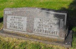 Bertha M <i>Schreider</i> Cortright