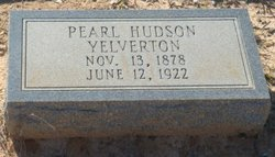 Ella Pearl <i>Hudson</i> Yelverton