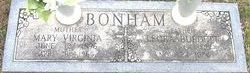 Mary Virginia <i>Deller</i> Bonham