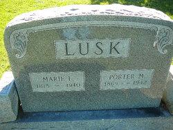 Marie F <i>Arnold</i> Lusk