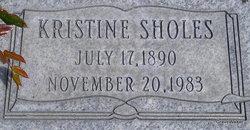 Kristine <i>Sholes</i> Dewhurst