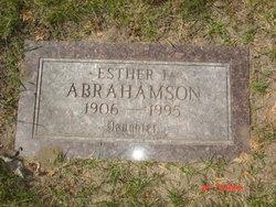 Esther L. Abrahamson