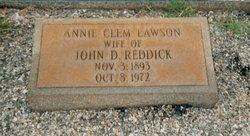 Annie Clementine <i>Lawson</i> Reddick