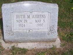 Ruth M Ahrens