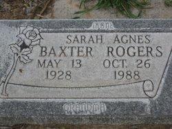 Sarah Agnes <i>Baxter</i> Rogers