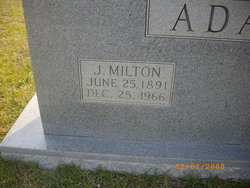 J. Milton Adams