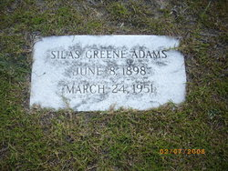 Silas Green Adams