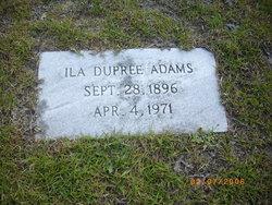 Ila <i>Dupree</i> Adams
