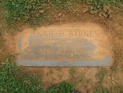 Jennie <i>Hefner</i> Barnes