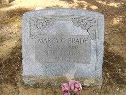 Marta Caroline <i>Daughtrey</i> Brady