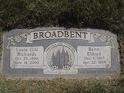 Louie Gill <i>Richards</i> Broadbent