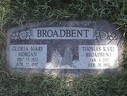 Gloria Mary <i>Morgan</i> Broadbent