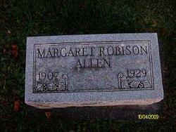 Margaret Lottie <i>Robison</i> Allen
