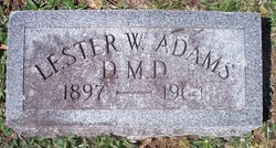 Dr Lester Will Adams