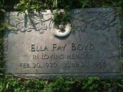 Ella Fay <i>Jeffers</i> Boyd
