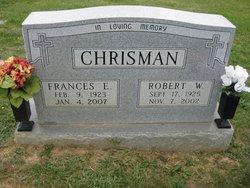 Frances Elizabeth <i>Kibler</i> Chrisman