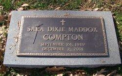 Sara Dixie <i>Maddox</i> Compton