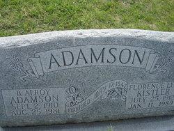 Florence Lee <i>Kistler</i> Adamson
