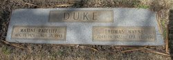 Thomas Wayne Duke