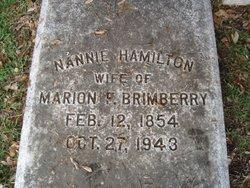 Nannie <i>Hamilton</i> Brimberry