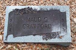 Maud G <i>Graham</i> Crawford