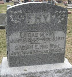 Sarah Elizabeth <i>Henline</i> Fry