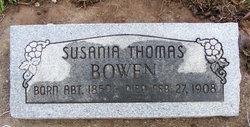 Susania <i>Thomas</i> Bowen