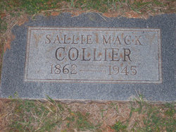 Sallie <i>Mack</i> Collier