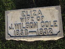 Eliza M. <i>Cook</i> Cole