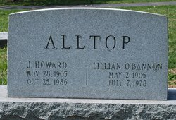 Lillian <i>O'Bannon</i> Alltop