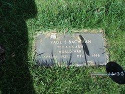 Paul S Bachman