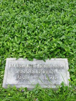Margaret E <i>Downing</i> Esselborn