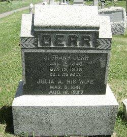 Julia Ann <i>Shultz</i> Derr