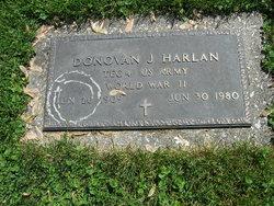 Donovan J Harlan