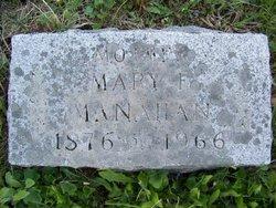 Mary Etta <i>Royer</i> Manahan
