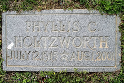 Phyllis Chrystine <i>Whitehurst</i> Holtzworth