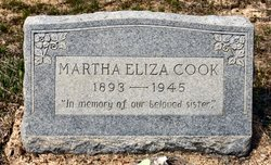 Martha Eliza Cook