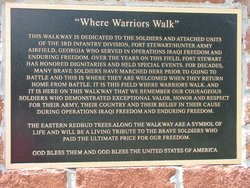 Warriors Walk Memorial