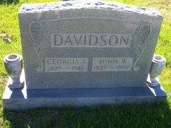 Georgia A Davidson