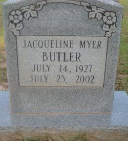 Jacqueline <i>Myer</i> Butler