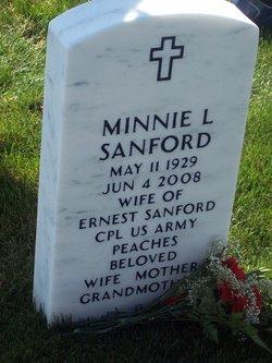 Minnie Lee Peaches <i>Williams</i> Sanford