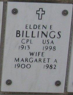 Margaret A Billings