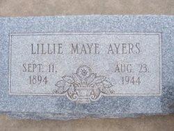 Lillie Maye <i>Oswalt</i> Ayers