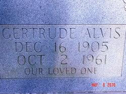 Agnes Gertrude <i>Earnest</i> Alvis